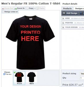 Using the internet and special software to design your own for T shirt printing design software