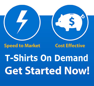 Digital T-Shirt Print On Demand Service