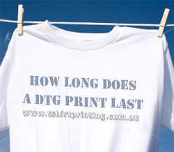 How Long Do DTG Printed T-Shirts Last In The Wash?