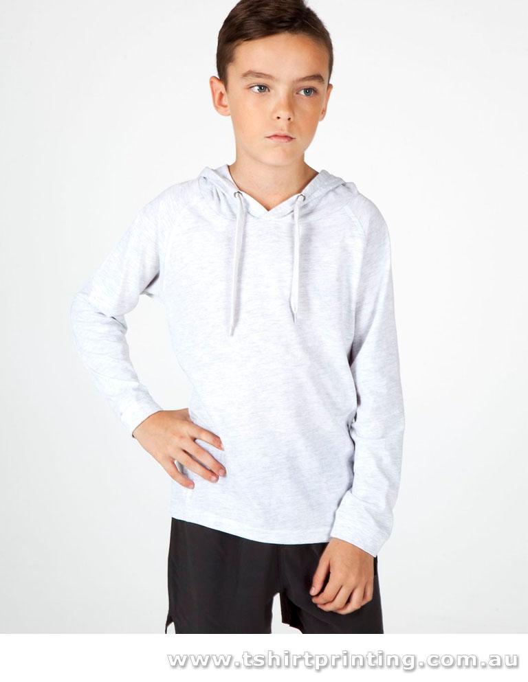 T84L Anvil Men's Long Sleeve Hooded Tshirt