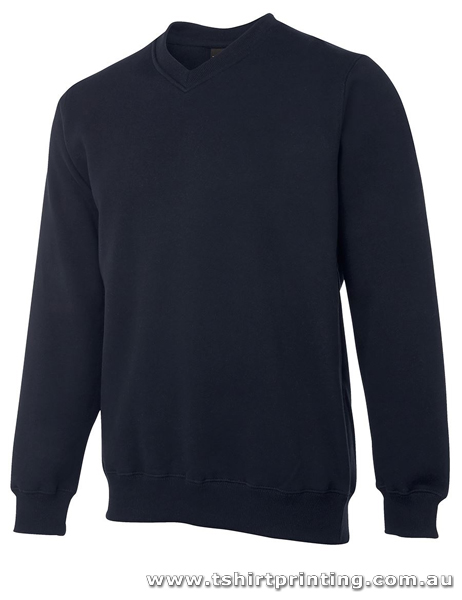 F41M Johnny Bobbin V-Neck Fleecy Sweat