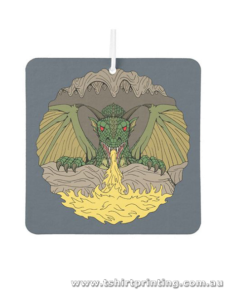 AF5 Square Cavern Dragon Air Freshener