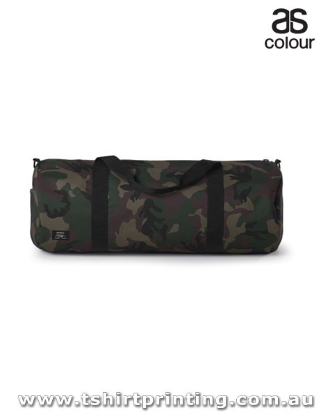 ASColour Cylinder Area Camo Duffel Bag