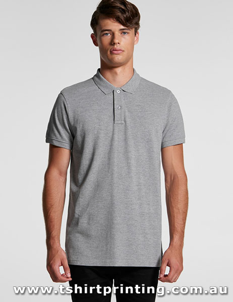 P113M ASColour Mens Cotton Pique Polo