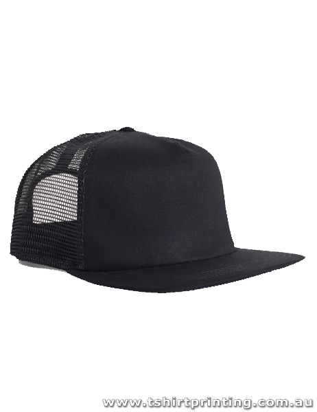 ASColour Black Trucker Caps
