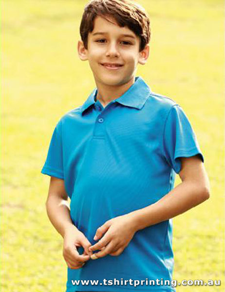 P56K Bocini Kids Polyester Basic Polo
