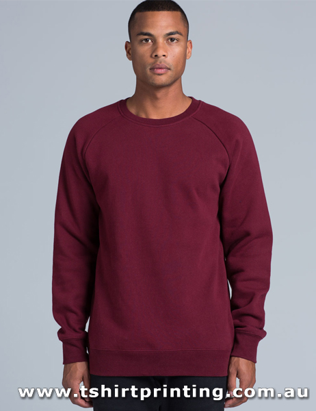 F03M ASColour Mens Box Crew Sweatshirt