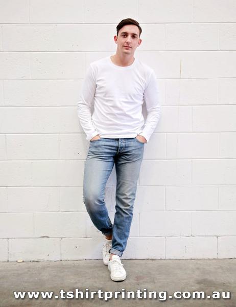 T124LM CB Clothing Men's Long Sleeve T-Shirt