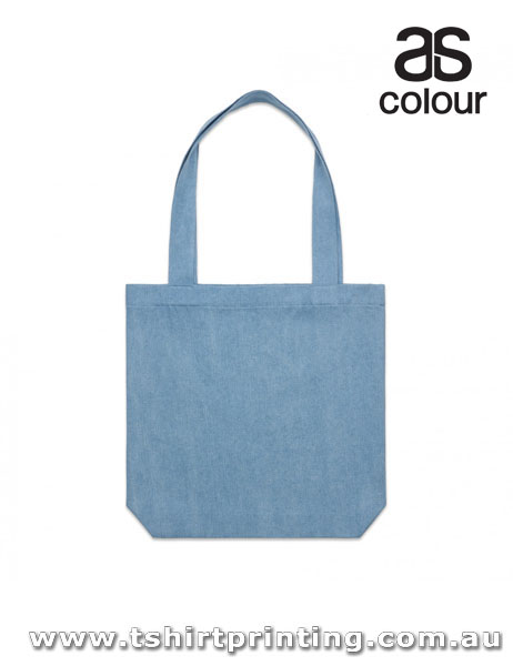 ASColour Reinforced Shoulder Straps Denim Carrie Tote