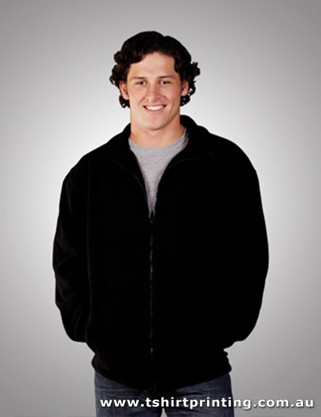 F15M Adults Full Zipped Polar Fleece Jumper