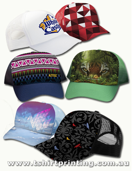 Sublimated Foam Front Trucker Caps