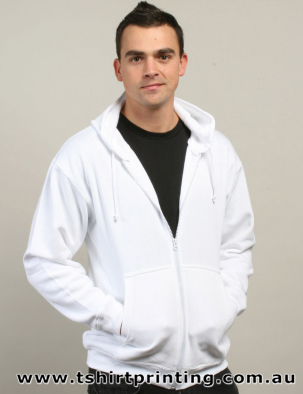 H09M Jarvis Adults Full Zipper Hoodie