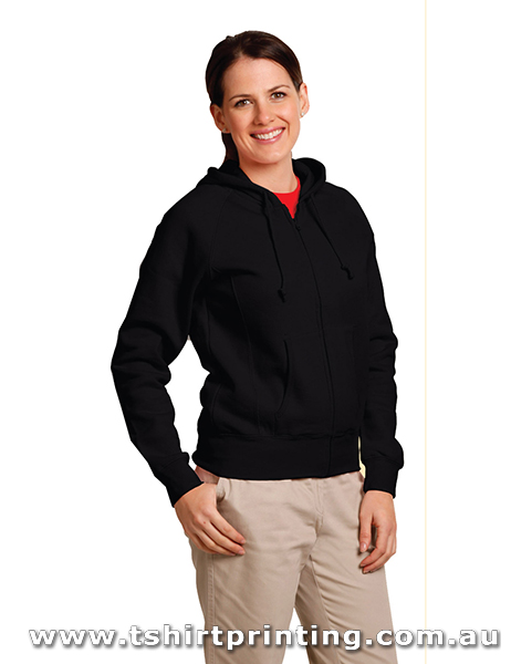 H29W Ladies Double Bay Hoodie