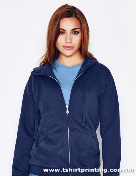H88W UNISEX HOODED ZIP