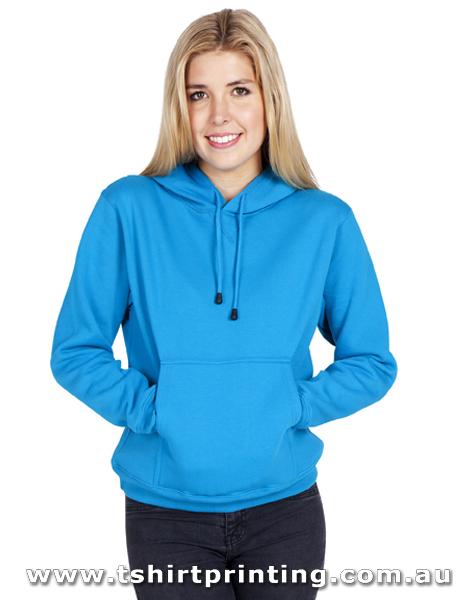 H89W Ladies' Kangaroo Pocket Hoodie