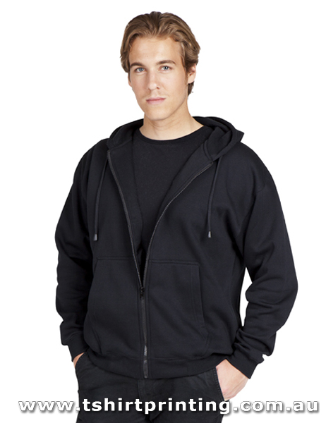 H90M Mens Zip Hoodies with Pocket