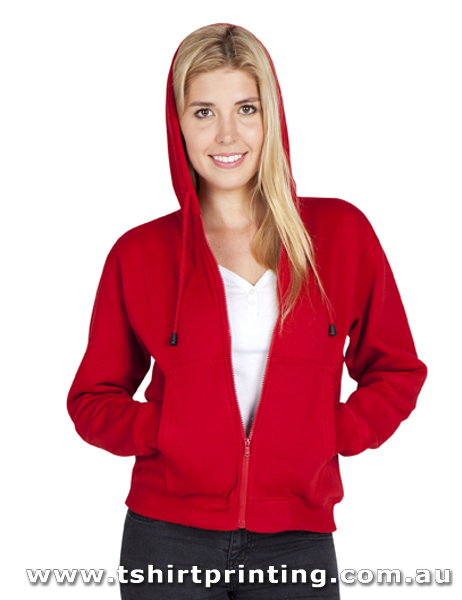 H90W Ladies/Juniors Zip Hoodies with Pocket