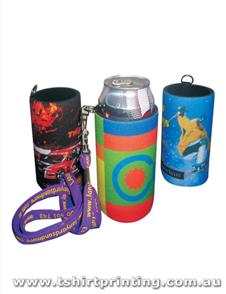 Handy Tag Stubby Holder with Full Colour