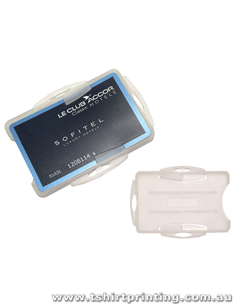 Hard Plastic Business Card Holder
