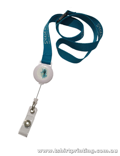 Conference Lanyard with Retractable Badge Holder