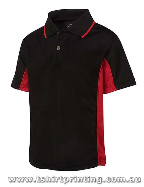 P73K JbsWear Kids Contrast Panel Polo