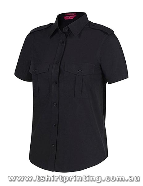 P110W JbsWear Womens Epaulette Shirt