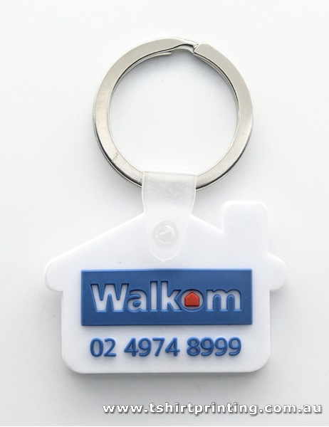 White House Business Card Key Ring