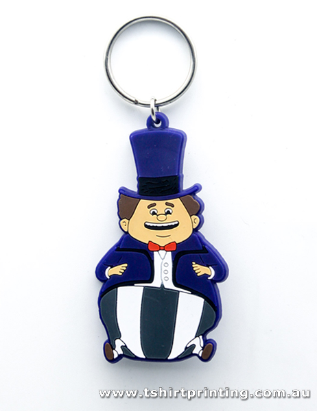 Mr. Hat Man Key Ring