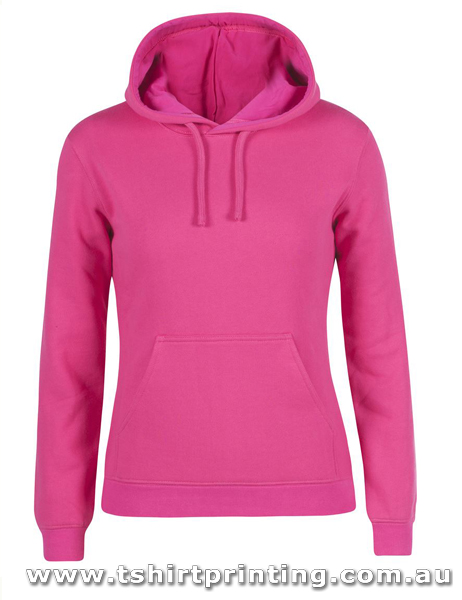 H55W Johnny Bobbin Ladies Fleecy Hoodie