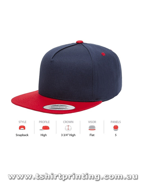 Yupoong Classic Two Toned Five Panel