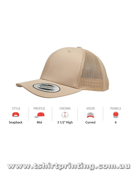 Yupoong Youth Classic Retro Trucker