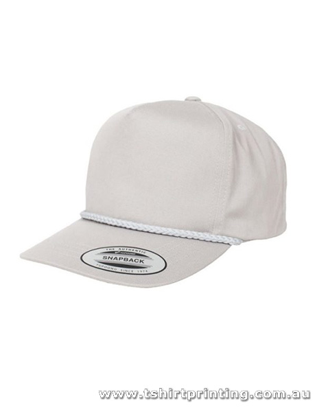 Macleod Scotland Poplin Golf Snapback Cap