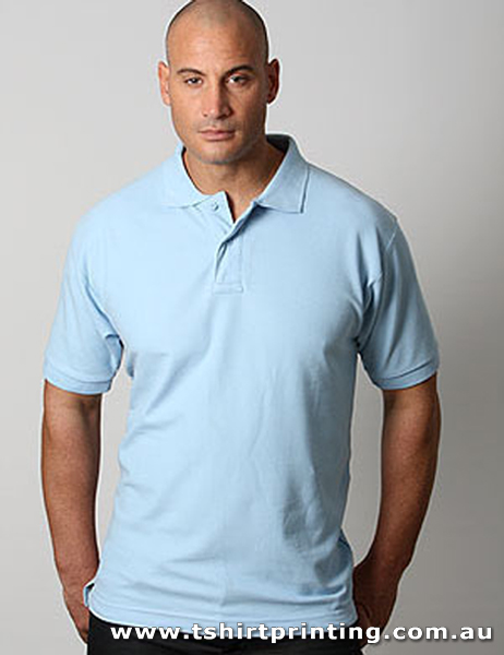 P05M Delta Cotton Pique Knit Polo