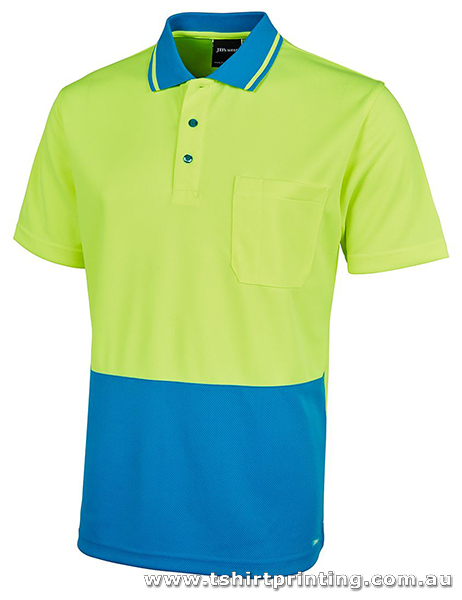 P08K Johnny Bobbin Kid's HiVis Trade Polo