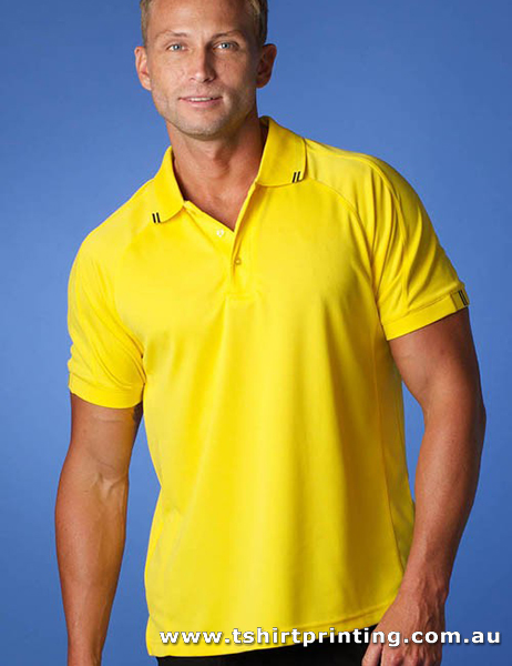 P100M Men's Polyester Flinders Polo