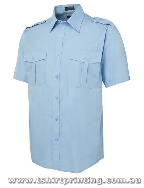 P110M Johnny Bobbin Mens Epaulette Shirt