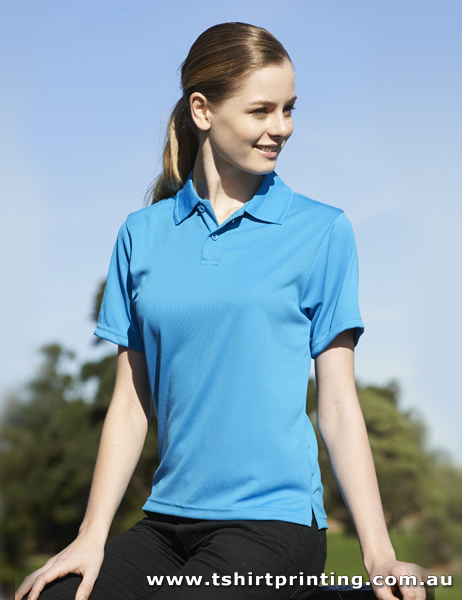 P56W Bocini Ladies Polyester Basic Polo