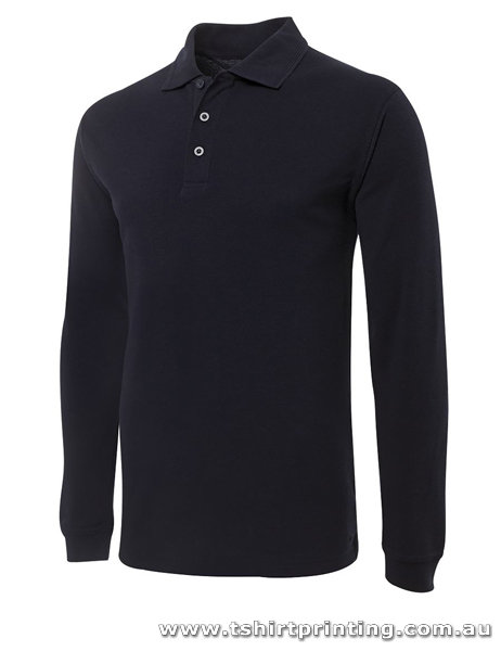 P62L Men Signature Long Sleeve Polo