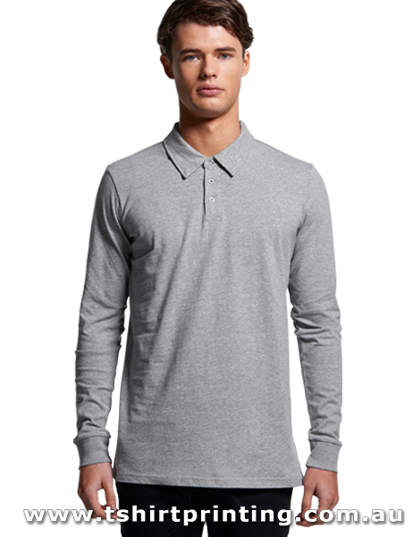 P64LM ASColour Men Chad Long SLeeve Polo