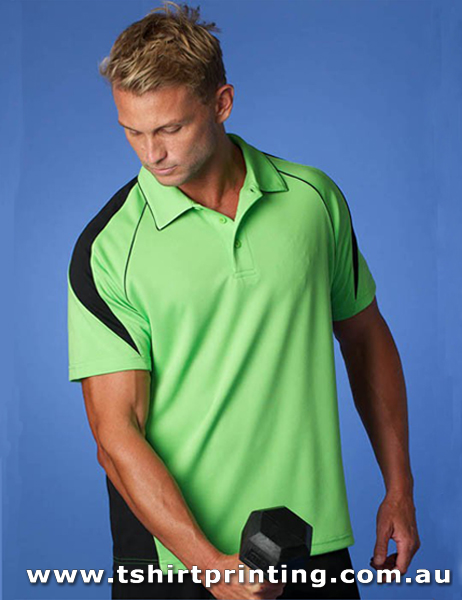 P65M Men's Polyester Premier Polo