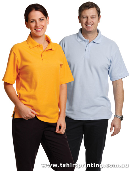 P69M Traditional Pique Knit Polo