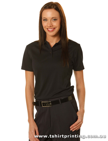 P71W Ladies Lucky Bamboo Polo