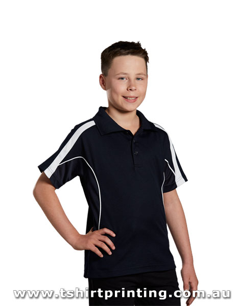 P74K Kids TrueDry Fashion Polo
