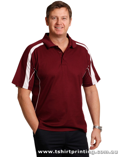 P74M Men's TrueDry Fashion Polo
