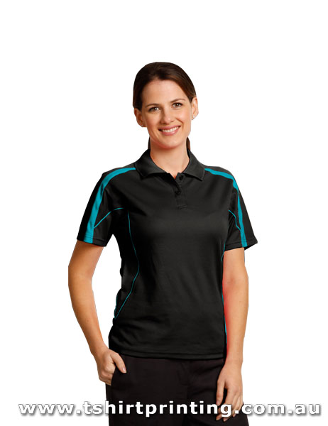 P74W Ladies TrueDry Fashion Polo