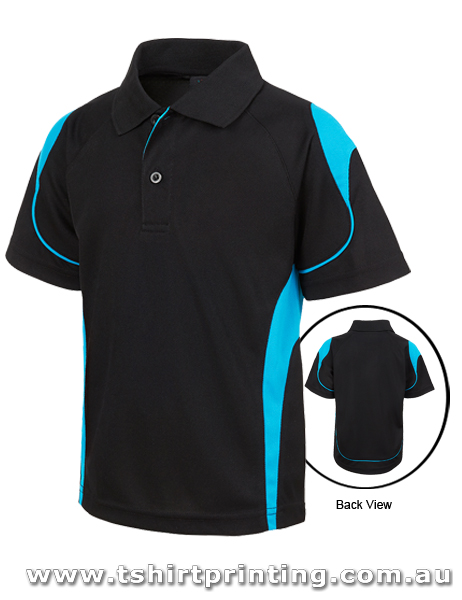 P79K Johnny Bobbin Kids Bell Polo