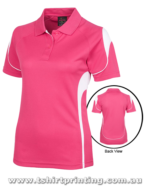 P79W Johnny Bobbin Ladies Bell Polo