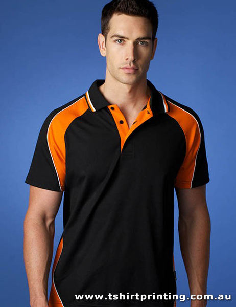 P81M Men's PolyCotton Panorama Polo