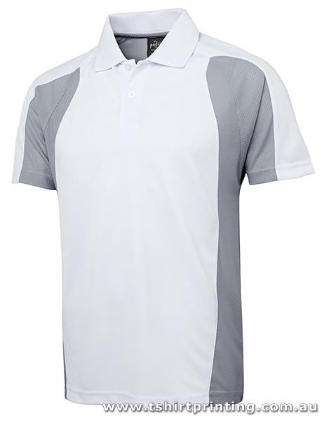 P82M Polyester Sculptured Polo