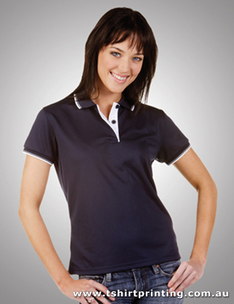 P90W Ladies Cooldry Micromesh Polo